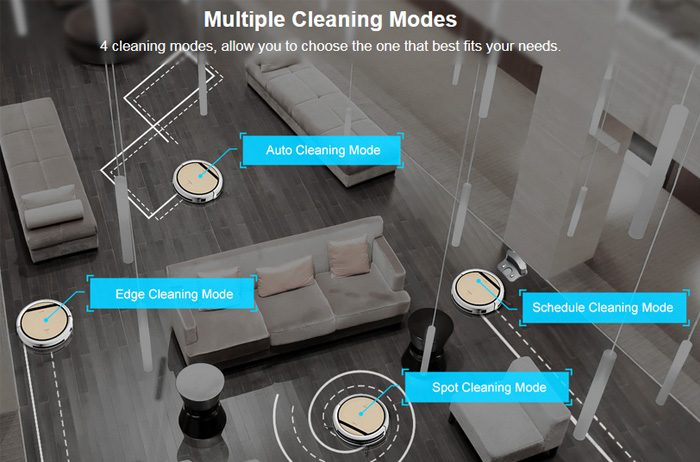 Multiple Cleaning Modes