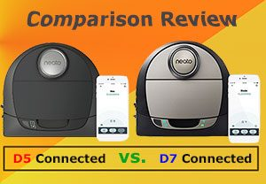 Botvac D5 Connected vs. D7 Connected