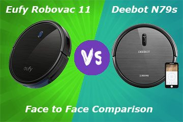 Eufy Robovac 11 and Deebot N79S Comparison - differences and similarities of models