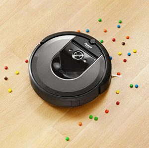 Roomba-i7-cleaning