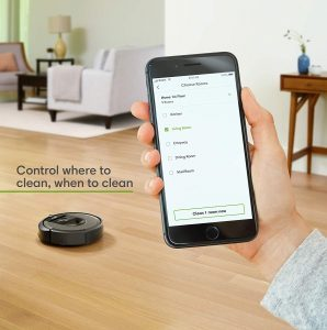 Roomba i7 Smart features