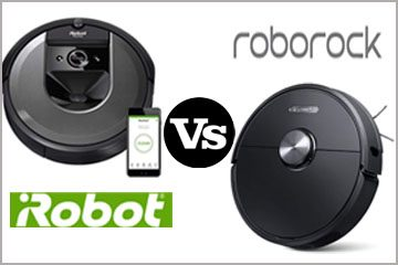 Roborock S6 vs. Roomba i7