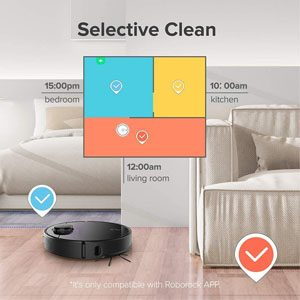 Roborock S4 Cleaning Modes