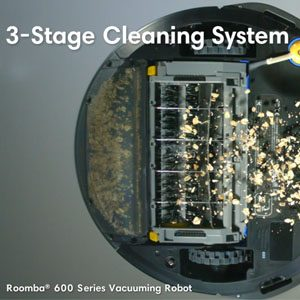 Cleaning Head roomba 614