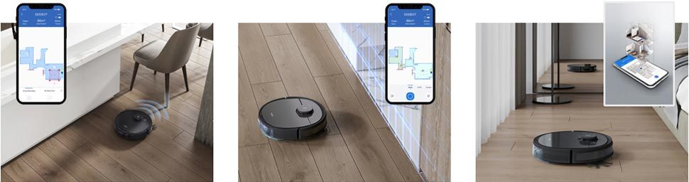 Connectivity and App Features Deebot Ozmo T8 AIVI