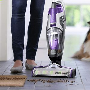 BISSELL CrossWave 2306A Vacuuming