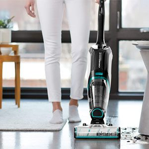BISSELL CrossWave 2554A Vacuuming