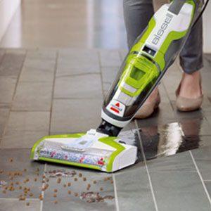 BISSELL CrossWave Vacuuming