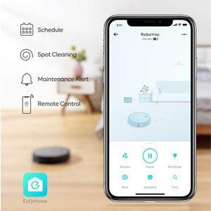 Eufy RoboVac G30 Hybrid smart app