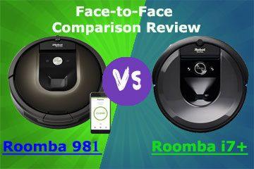 Roomba i7 vs 981