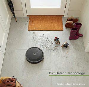 Dirt detection