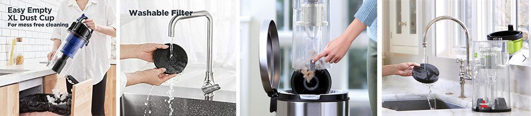 Eureka vs Bissell Filtration