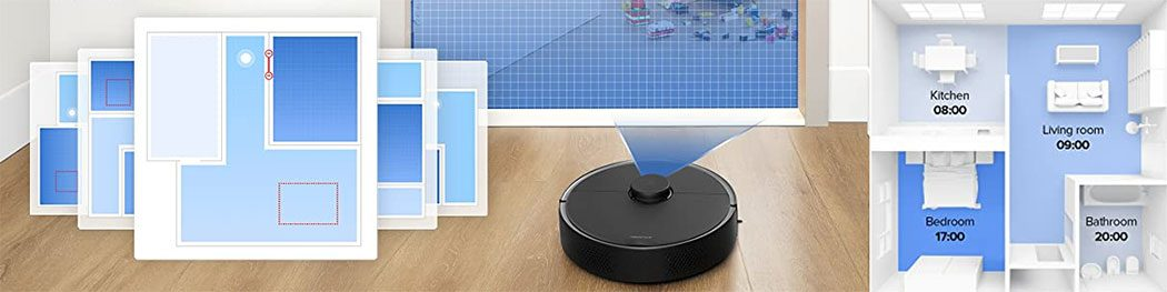 Roborock S4 Max Mapping