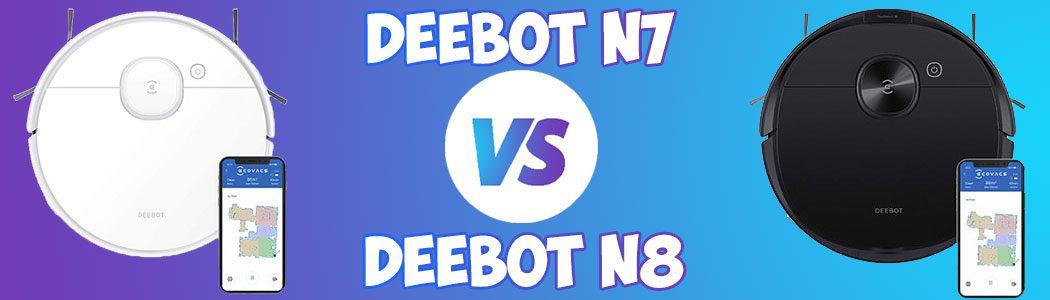 Deebot N7 vs N8