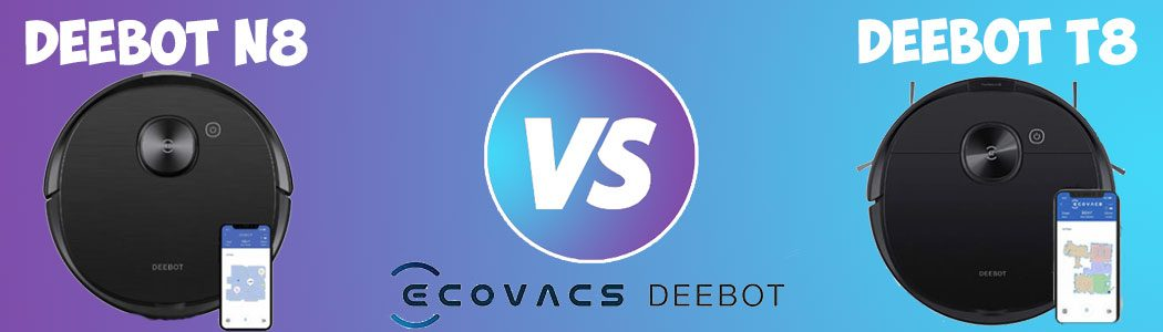 Deebot N8 vs T8