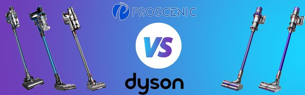 Proscenic vs Dyson