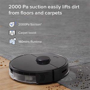 Roborock S5 Max Vacuuming Performance