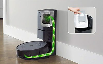 Roomba i3 Filtration and Bin System