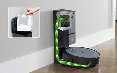 Roomba i4 Filtration and Bin System
