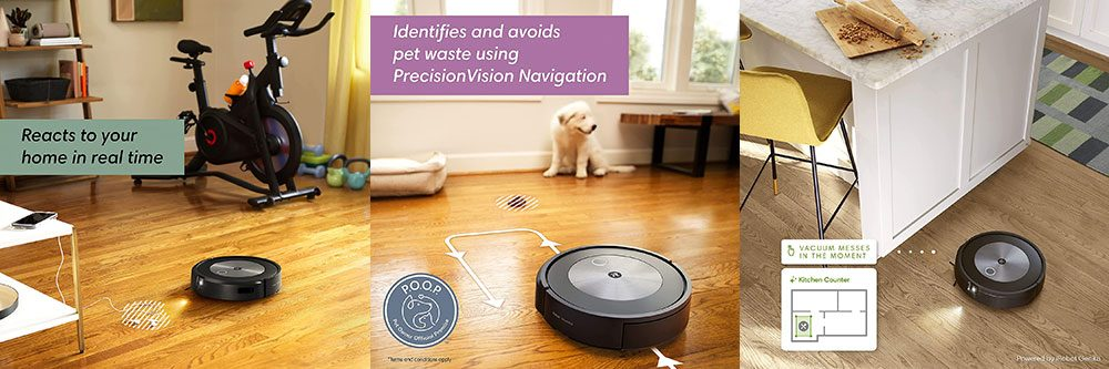 Roomba J7 Navigation and Mapping
